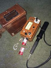Geigerzähler, Radiometer, guter Zustand,  Gamma- und Betamessung, solide Militär