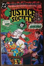 America Vs. Justice Society #2 NM (1985 DC Comic)