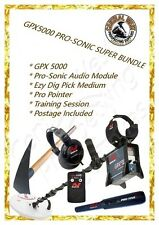 Minelab GPX 5000 Super Bundle / Free Post! - Gold/ Metal Detector