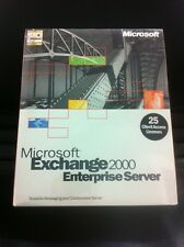 MS Exchange Server 2000 Enterprise Edition inkl. 25 CAL Eng. mit MwSt-Rechnung
