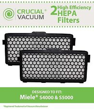 2 Miele S4000 & S5000 HEPA Filters, Part # SF AH50