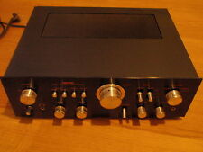 Nikko TRM-750 vintage stereo amp black  2*75 watts good condition worldw.ship