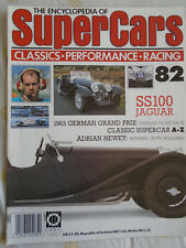 Encyclopedia of Super Cars 82 Jaguar SS100