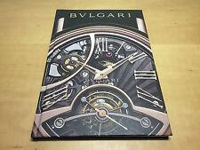Catalogue Catálogo BVLGARI BULGARI - Colección Relojes 2012 - Spanish