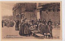 O 129 -Ortelsburg, Obsthändlerinnen und Kinder, ungelaufen