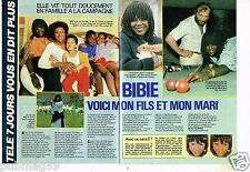 Coupure de presse Clipping 1985 (2 pages) Bibie