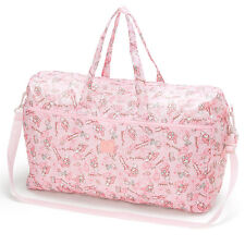My Melody Folding 2WAY Zipper Boston Bag Carry On Pink ❤ Sanrio Japan Travel