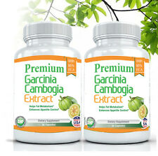 2X Premium 95% HCA Garcinia Cambogia Extract Weight Loss-Diet Pill Fat Burner