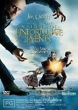 A Series Of Unfortunate Events [DVD], Region 4 + 2, Fast Next Day Post....7552