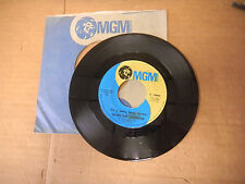 THE MIKE CURB CONGREATION it's a small small world/ shinin on me MGM sleeve   45