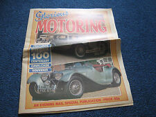 100 Years of Motoring Booklet 1889-1989 Supplement Great photos / info