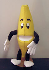 """Banana Ventriloquist Puppet 18"""" tall - ministry, health, fruit, performers"""