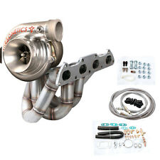 T3 Top Mount Turbo Charger Kit W/ Turbonetics T3-60 Series Turbo Honda B-series