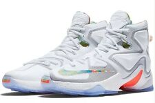 Nike Lebron XIII Easter Basketball White NBA Shoes - Size 13 (807219 108) $200
