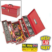 Clarke 199Pc Diy Tool Kit With Cantilever Tool Box - 1801641 - CHT641