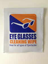 40 Eyeglasses Cleaning Wipes pre moistened computer optical lens cleaner new
