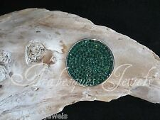 SMALL GENUINE STERLINA MI MILANO COIN/MONEDA FOR NECKLACE/KEEPER CRYSTAL AJMM