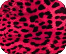 LEOPARD PRINT PINK MOUSE PAD NON FADE