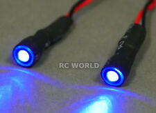 RC Racing Drone Quad LIGHT SYSTEM POWERFUL 10mm HALO LED  - BLUE -