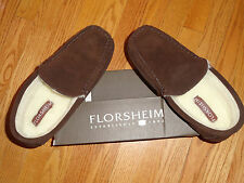 Mens 11 Florsheim Genuine Suede Venetian Moc Moccasins Slippers Brown New!