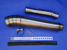 NEW Suzuki GSXR1000 K1 K2 K3 K4 GP Extreme Exhaust End Can & Link Pipe / Race