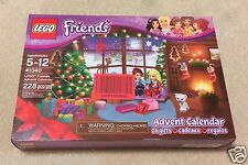 2015 LEGO Friends #41040 ADVENT CALENDAR 228 Pcs Nib 24 Gifts NEW SEALED  New in