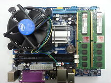 INTEL G41 CHIPSET MOTHERBOARD + 2GB DDR3 RAM + CORE 2 DUO PROCESSOR COMBO **