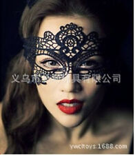 Black Lace Half Face Mask For Women Halloween Dance Masquerade Prom Party Masks