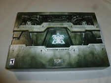 BOXED PC GAME SET STARCRAFT II WINGS OF LIBERTY COLLECTORS EDITION ART BOOK DVD