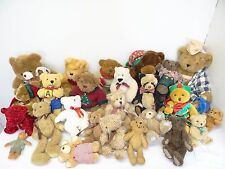 Large Mixed Lot 25 Quality Vermont Teddy Bear Bears Toyland Carol Carini Meyer
