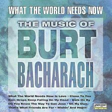 Various Artists : Music of Burt Bacharach CD (1998)