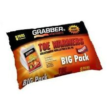 NEW GRABBER TWES8 FRESH BIG PACK 8 PAIRS FRESH TOE WARMERS GREAT SALE PRICE