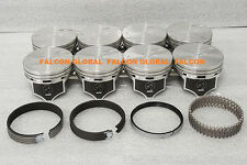 Chevy 7.4L 454ci Sealed Power Hypereutectic Pistons+MOLY Rings 1996*-2000 +.040