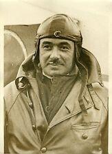 """""""Le pilote POULAIN 1932"""" Photo originale G. DEVRED (Agce ROL)"""