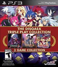 PS3 STRATEGY-DISGAEA TRIPLE PLAY COLLECTION  PS3 NEW