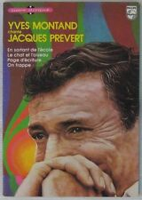 Jacques Prévert 45 tours Yves Montand