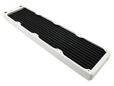 XSPC EX480 Slim Line Quad 120mm Fan Water Cooling 480mm Radiator White