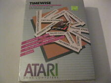 Timewise A Time Management Program new factory sealed Atari Home Computer game