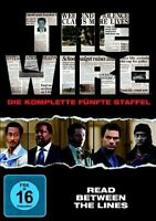 THE WIRE, Staffel 5 (Dominic West) 4 DVDs NEU+OVP