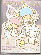 Sanrio Little Twin Stars Stationery Die Cut Envelope Stickers Notesheets