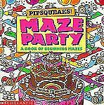 Pipsqueaks! Maze Party (Read with Me Cartwheel Books (Scholastic Paperback)) by