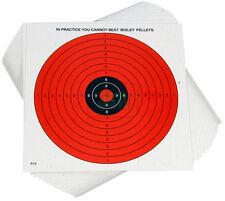 100 x 14cm Bisley Air Gun DAY-GLO TARGETS Rifle Pistol Airgun Target Shooting