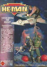 X2185 He Man - Bolojet - Optikk - Lizorr - Pubblicità 1990 - Advertising