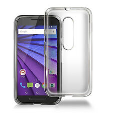 iDefend Motorola Moto G4 4th Generation Clear Gel Silicone Case Cover