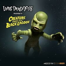 MEZCO UNIVERSAL MONSTERS CREATURE FROM THE BLACK LAGOON LIVING DEAD DOLL FIGURE
