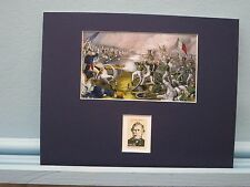 Mexican War Hero Zachary Taylor wins Battle of Buena Vista & his own stamp