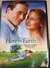 Chris Klein Leelee Sobieski HERE ON EARTH 2000 Adolescente Romántica Drama GB