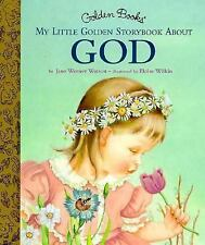 My Little Golden Storybook About God Wilkin, Eloise Hardcover