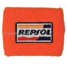 REPSOL ORANGE HONDA BRAKE RESERVOIR SOCK COVER RC51 RVT 1000 CBR 600RR 1000RR