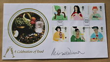 CHANGING TASTES 2005 BUCKINGHAM FDC SIGNED BY THE FILM DIRECTOR MICHAEL WINNER
